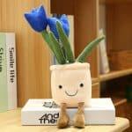 niebieski Tulipan